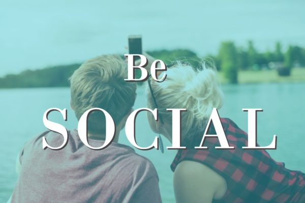 Be Social: The latest update in some Social Media channels.